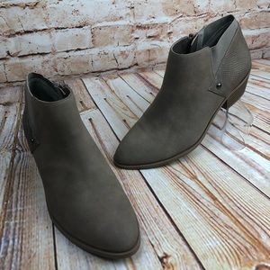 Simply Vera Vienna Sand Tan Ankle Booties Boots